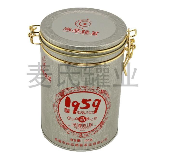 茶葉類鐵盒 5