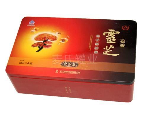 人蔘枸杞靈芝類鐵盒 4