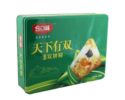 月餅粽子鐵盒 4