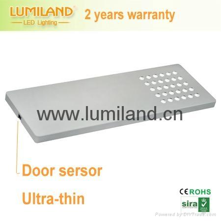 Slim And Thin LED Under Cabinet Light With Door Sensor  Lumiland 1 ...