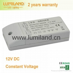 LED driver LED power supply electronic convertor- Lumiland