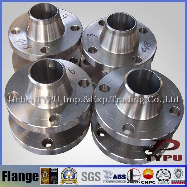 Carbon Steel Ansi Pipe Fittings Weld Neck Flange large Dimension 1
