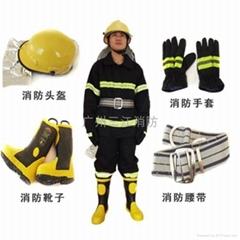 02款加厚五件套消防員滅火防護服