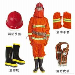 97式消防防護服五件套