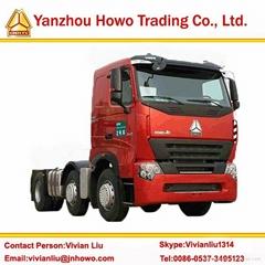 SINOTRUCK howo a7 heavy tractor truck zz4257n3247n1b