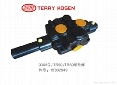 terex Hydraulic lift valve 15302549 for tr50 Terex truck spare part