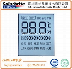 home appliance air conditioner remote control lcd panel