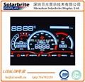 高档汽车里程仪表VA-LCD液