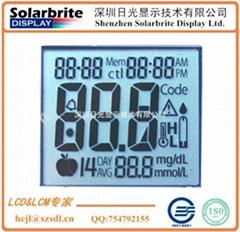 医疗产品血压计STN-LCD液晶显示屏