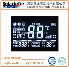 home appliance water heater calorifier lcd panel