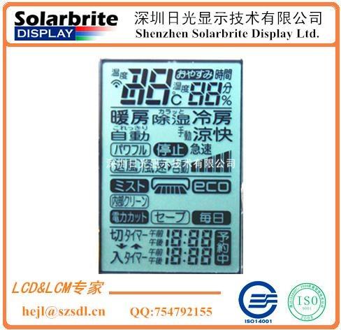LCD液晶显示屏空调控制器LCD显示屏出口日本空调用STN-LCD液晶屏 1