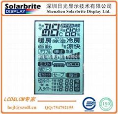 LCD液晶显示屏空调控制器LCD显示屏出口日本空调用STN-