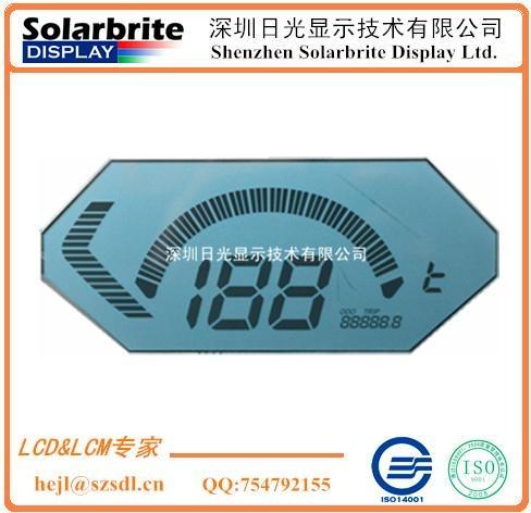 汽车仪表里程表时速表STN-LCD液晶显示屏 1
