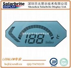 汽车仪表里程表时速表STN-LCD液晶显示屏