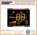 thermostat temperature LCD module with