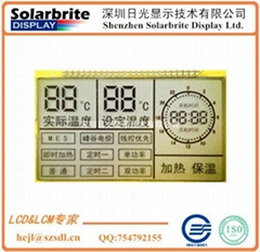 smart electric meter ammeter lcd panel