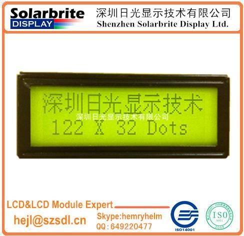 122*32COB LCD液晶模組 1
