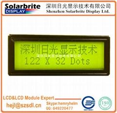 122*32 COB LCD MODULE