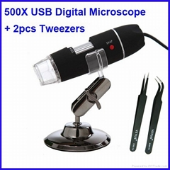 500X usb digital microscope with measurement function