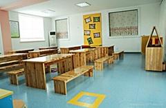 幼儿园环保PVC地板