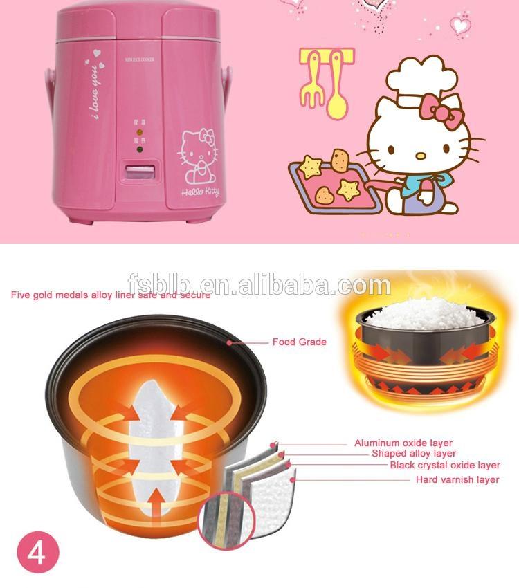 BLB SF168 1.2L mini electirc rice cooker 4