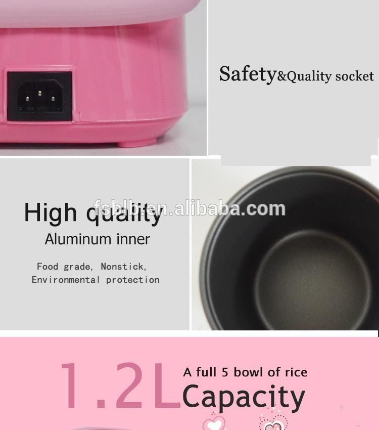 BLB SF168 1.2L mini electirc rice cooker 5
