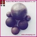 dia.20-150mm chrome alloy casting steel balls 2