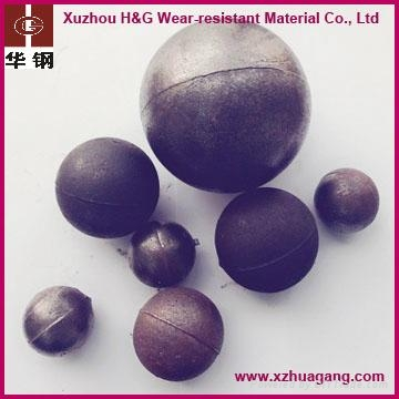 dia.20-150mm chrome alloy casting steel balls 1