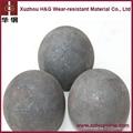 dia.60mm power plant casting steel balls 4
