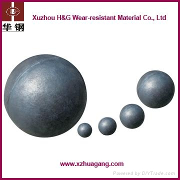 dia.70-120mm copper mine casting grinding media balls 1