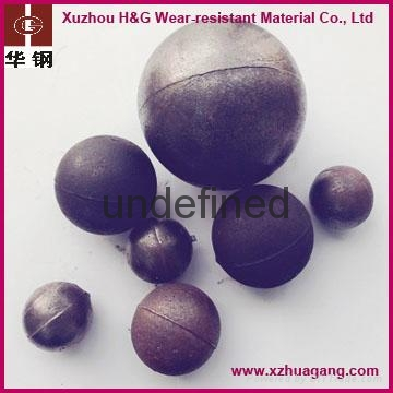 chrome alloy casting grinding balls for cement ball mill 2