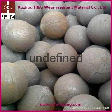 chrome alloy casting grinding balls for cement ball mill 3