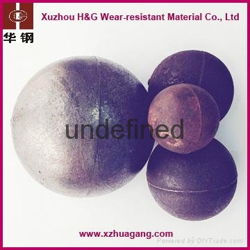 chrome alloy casting grinding balls for cement ball mill 1