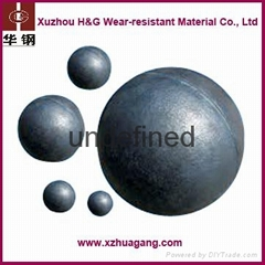 Casting steel balls for iron ore mine industry