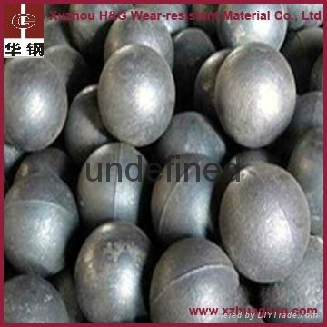 Casting steel balls for iron ore mine industry 2