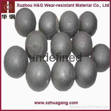 Casting steel balls for iron ore mine industry 3