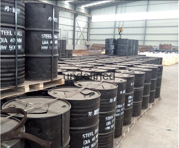 Casting steel balls for iron ore mine industry 5