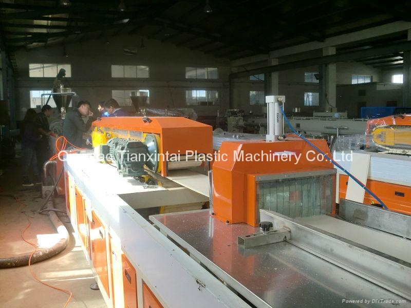 PVC ceiling panel extrusion machine 2