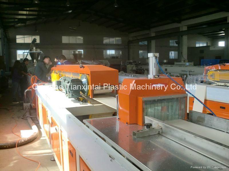 PVC ceiling panel extrusion machine 2