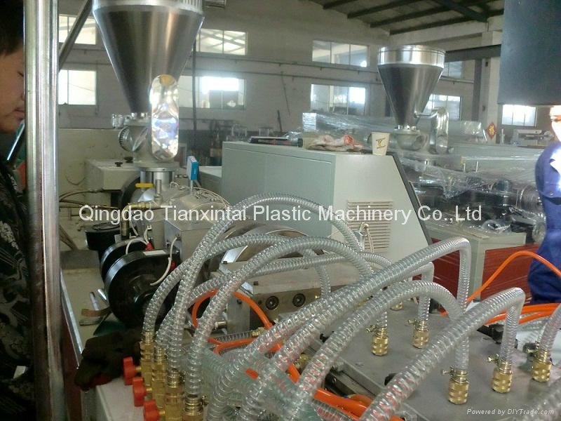 PVC ceiling panel extrusion machine 3