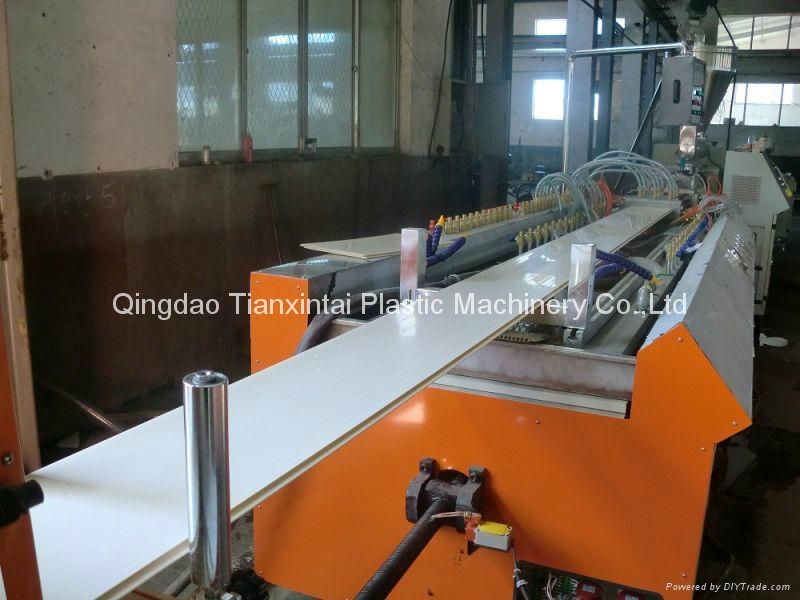 PVC ceiling panel extrusion machine 1