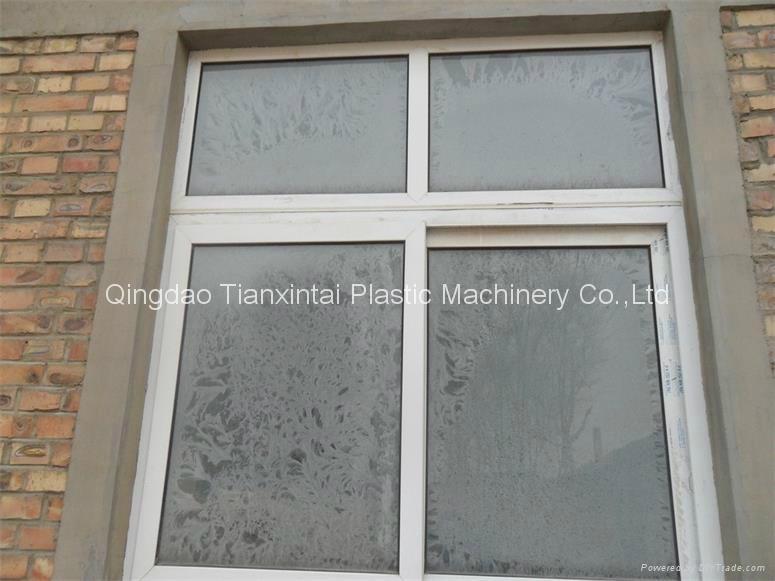 PVC window profile extrusion line 2