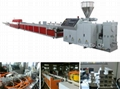 PVC window profile extrusion line 3