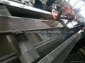 WPC floor board extrusion line