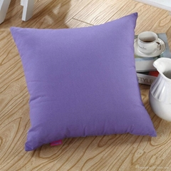 Solid Color Dyed bolster pillow