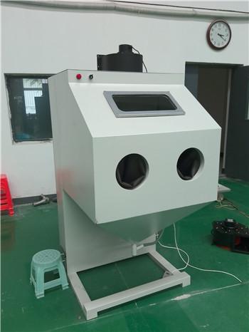 自動轉盤式噴砂機  1