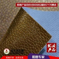 PVC artificial leather for car