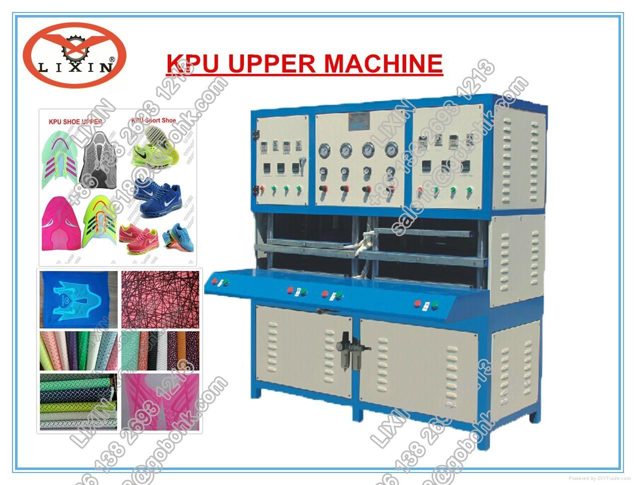 kpu shoe upper machine 3