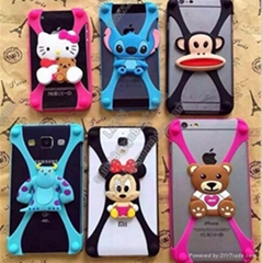 Machine making cover for mobile phone