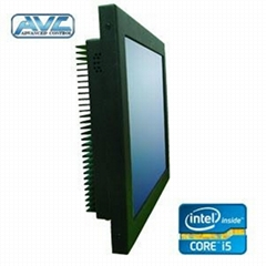 Intel I5 Duo Core Fanless Panel PC Touch Screen PC 4GB DDR3 64GB SSD